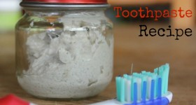 Homemade Toothpaste Recipe | Homestead Honey