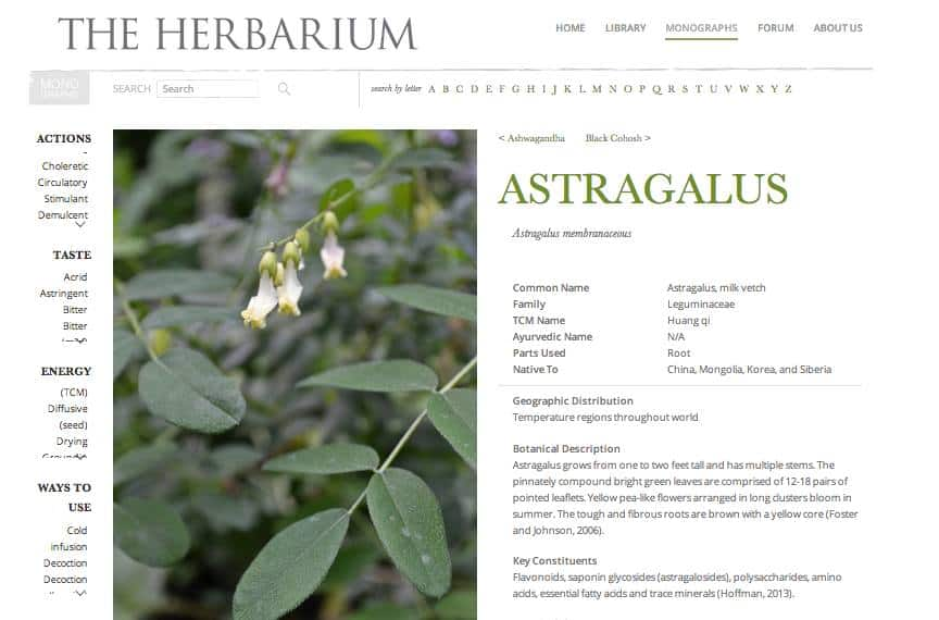 The Herbarium by The Herbal Academy of New England