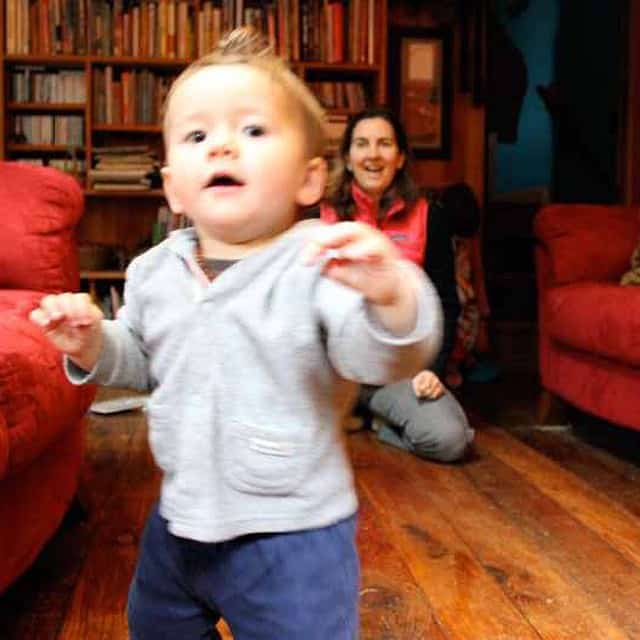 #tbt Everett takes his first steps in our Oregon living room, January, 2012.