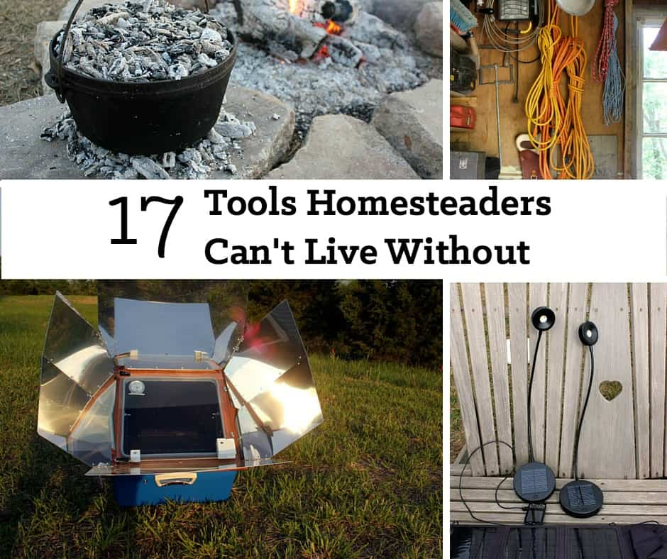 Expert homesteaders consider these 17 tools essential for their home, garden, and homestead chores. | Homestead Honey