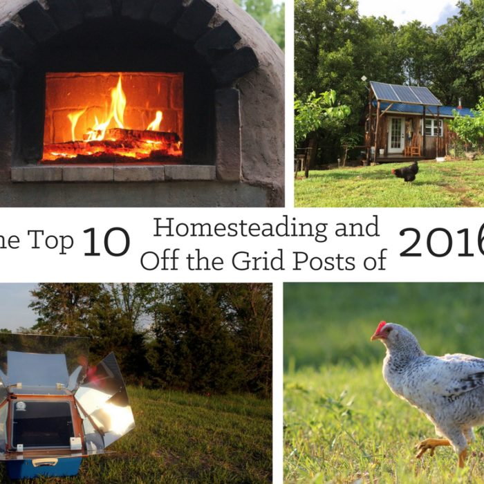 Top Homesteading and Off the Grid Posts of 2016