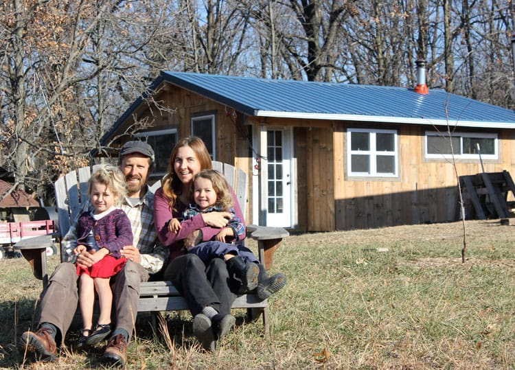 Ever wondered what it is like to live in a tiny house with kids? We have lived in a 350 square foot home with our two children for three years. Here are the pros and cons, and how we make tiny house life work for our family. | Homestead Honey
