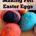 Making Felt Easter Eggs