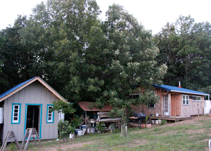 Shed and Tiny House | Homestead Honey