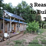 Three Reasons to Build a Tiny House