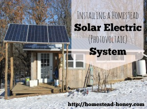 Installing a Solar Electric system on our tiny house | Homestead Honey