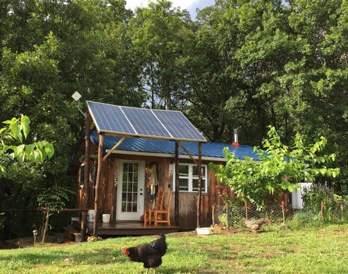 Solar panels provide our homestead with electricity | Homestead Honey
