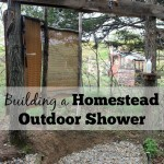A Homestead Outdoor Shower