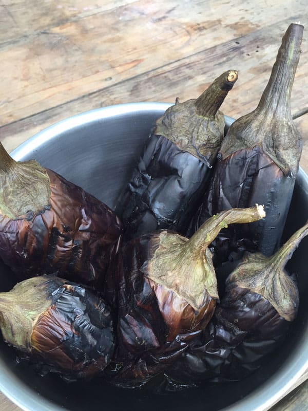 Preserving Eggplants for Winter Eating