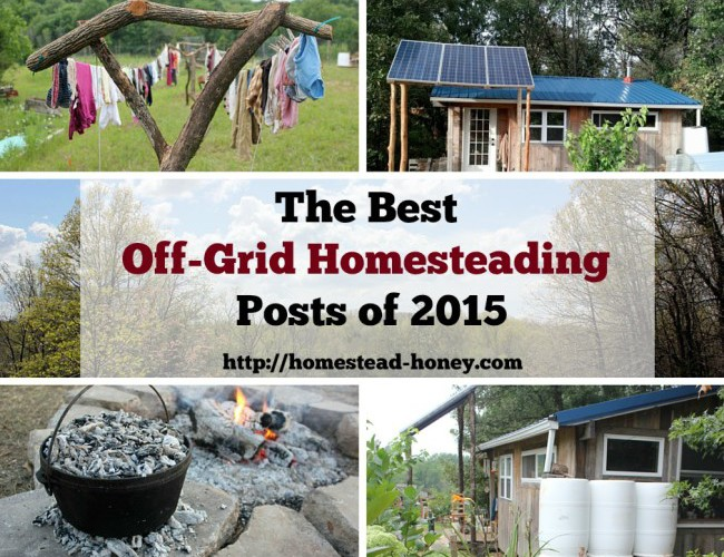 Top Off-Grid Homesteading Posts of 2015