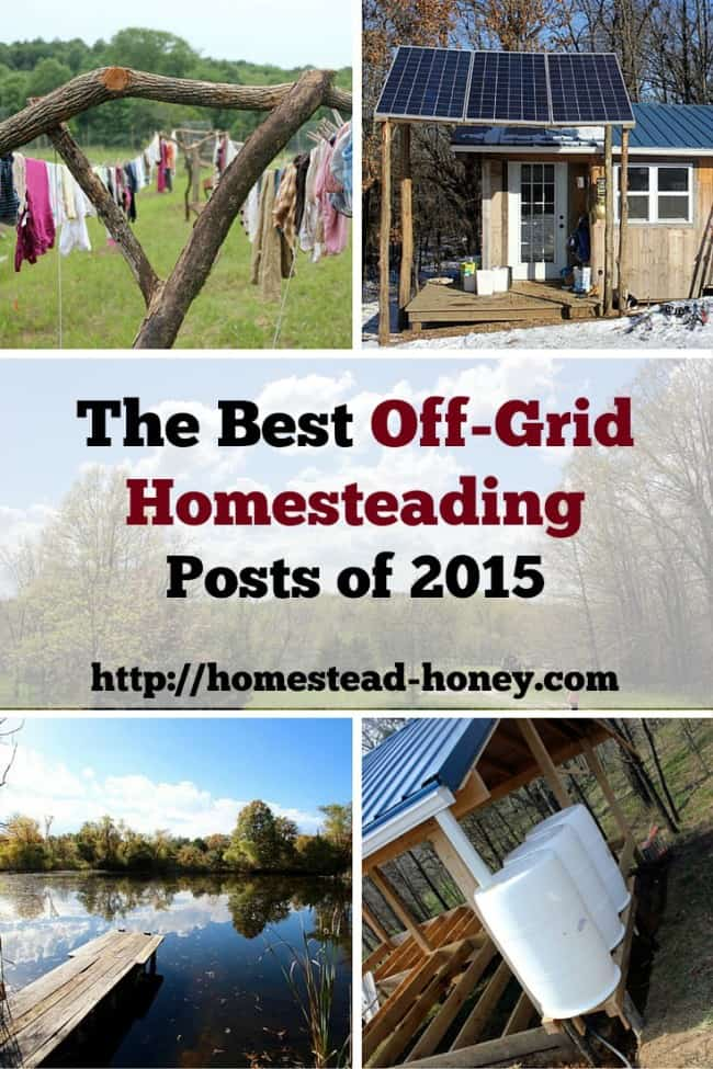 The very best off-grid homesteading inspiration of 2015 | Homestead Honey