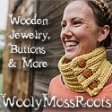 Wooly Moss Roots | Wooden Jewelry, Buttons, & More