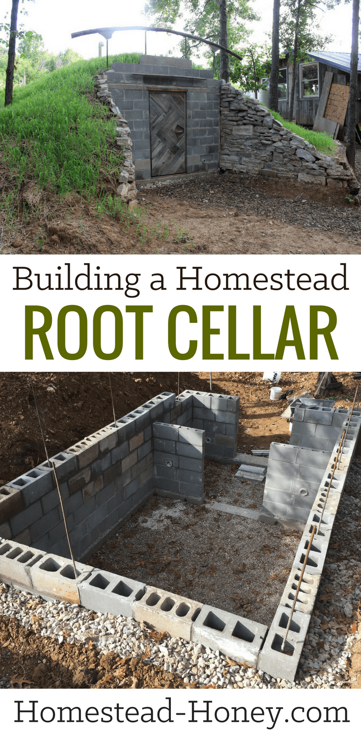Building a Homestead Root Cellar eBook - like the idea of having your own homestead walk-in root cellar? Here's a step-by-step guide on how to build your own root cellar in your backyard.  With basic building skills, you can create a structure that will transform your ability to preserve and store food in winter. It can also be used as a safe room #homesteading #diy