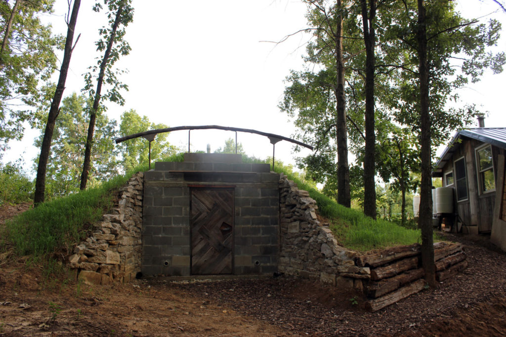 Our completed homestead root cellar | Homestead Honey