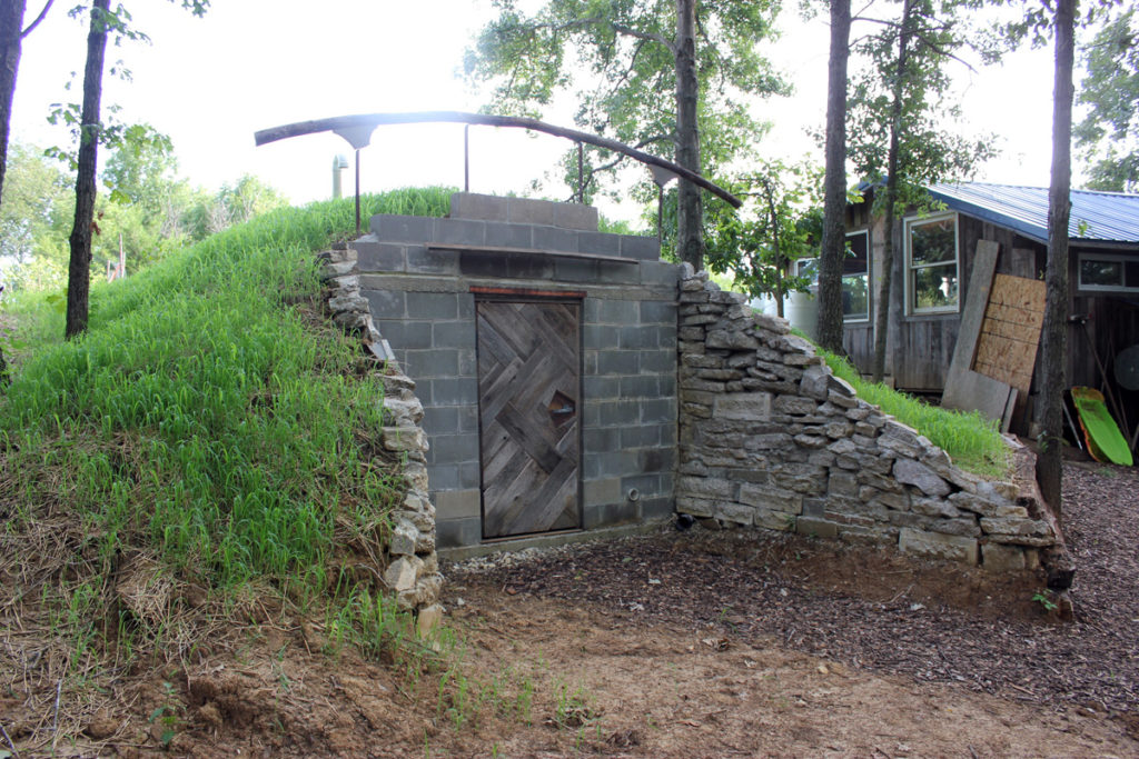 Our Homestead Root Cellar, complete and ready to store food for the winter | Homestead Honey
