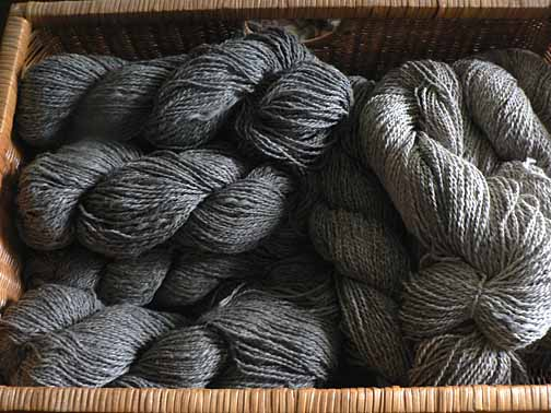 Home raised yarn is another value-added product that can form the core of your homestead business.
