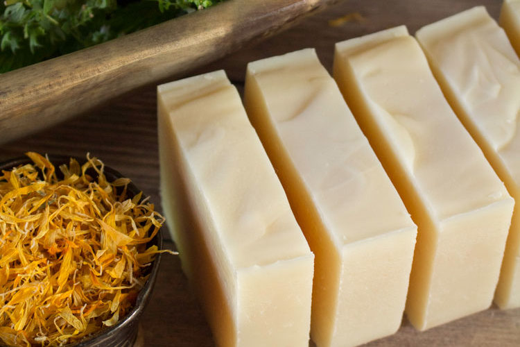 Calendula Tallow Soap Bars