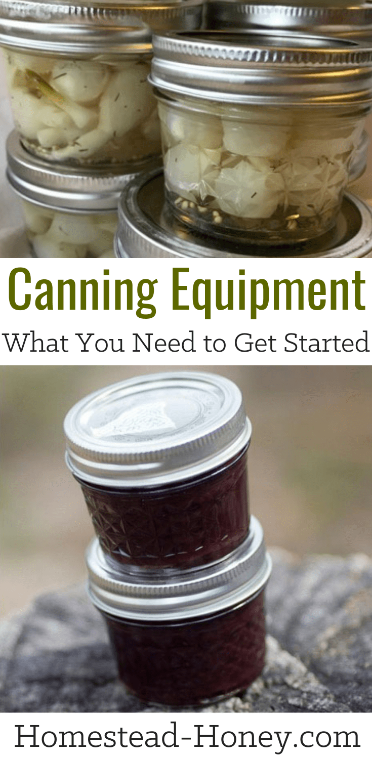 Canning Equipment for Beginners