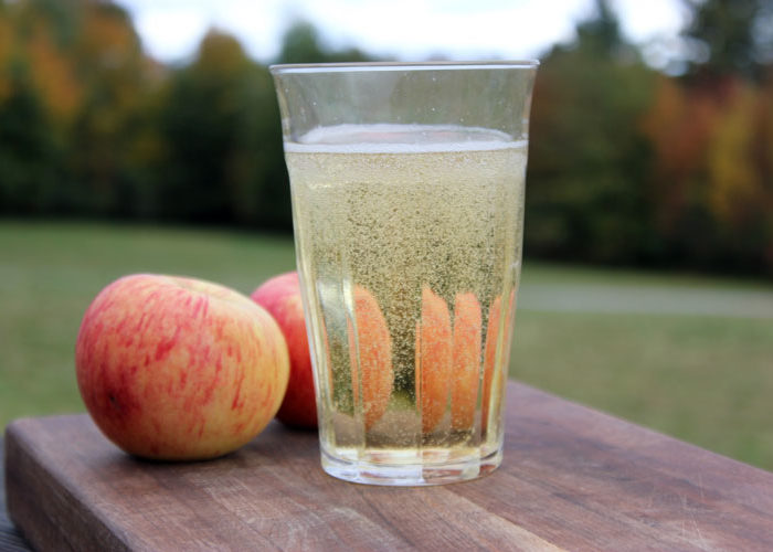 Learn how to rack and bottle your hard apple cider at home.